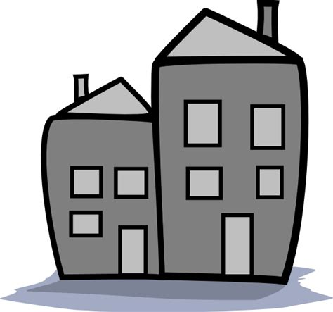 wohnung clipart greyscale apartment clip at clker vector clip