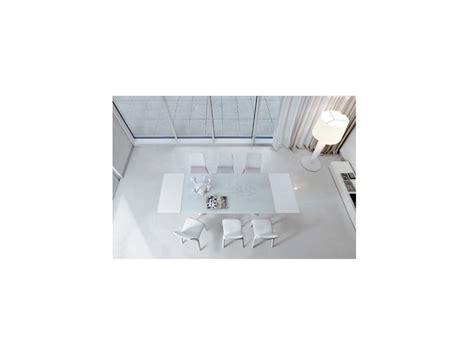 tavoli in vetro e acciaio tavolo bonaldo octa in vetro e acciaio rettangolari