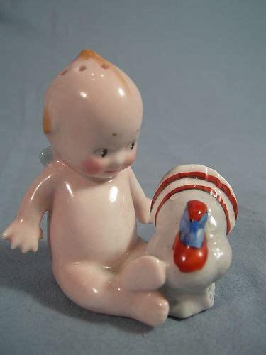 kewpie no 2a antique vintage kewpie figural salt or pepper shaker with