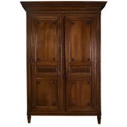 louis xvi mahogany armoire bordelaise for sale at 1stdibs