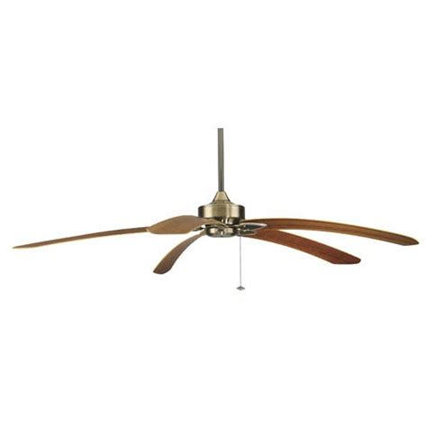 curved blade ceiling fan fanimation windpointe antique brass 80 inch ceiling fan