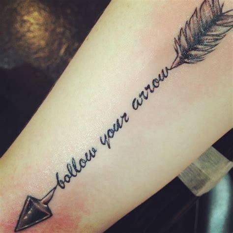 follow your arrow tattoo the world s catalog of ideas