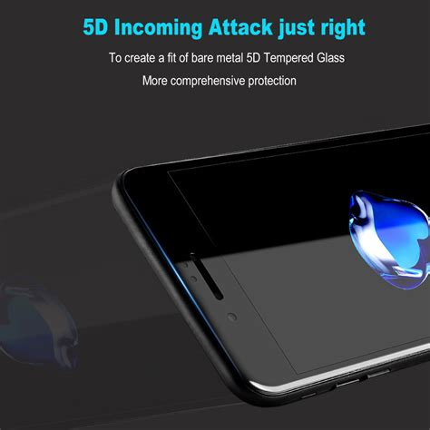 Iphone 7 47 4d Curved Cover Tempere Kode Df1755 1 bakeey 5d curved edge cold carving tempered glass for iphone 8
