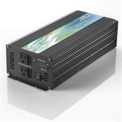 Power Inverter Sunpro 1500w Pl 15 1500 Watt sine wave power inverter 1500 3000 watt dc to ac ebay