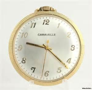 caravelle 7 jewels 11dp open pocket gold