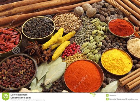 ingredient cuisine indian spices stock photo image 36558640