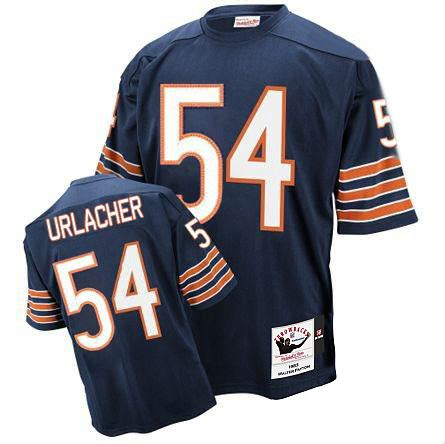 replica blue brian urlacher 54 jersey like p 162 authentic mitchell and ness s brian urlacher navy blue