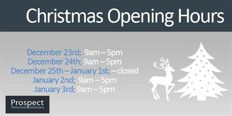 christmas trading hours at erina fair prospect personnel opening hours