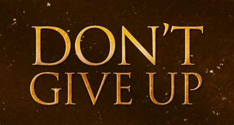 Dont Up The don t give up shawnee baptist church