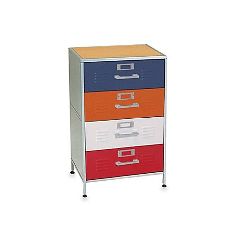 american furniture alliance locker twin bed with 3 drawers buy american furniture alliance 4 drawer locker dresser