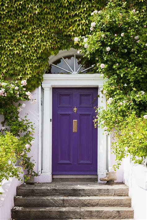 purple front door impressions matter what s that door