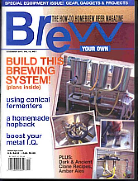Home Brew Magazine brew your own home brewing magazine