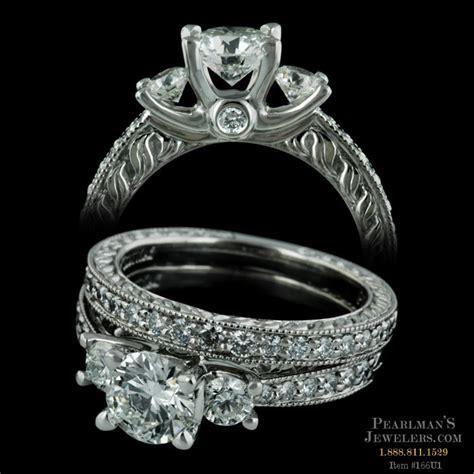 jewelry palladium engagement ring by