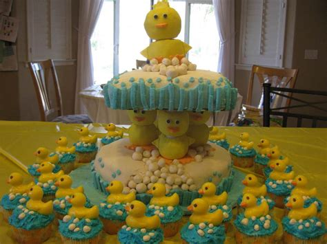 Duck Rubber Ducky Baby Shower Cakes by Rubber Duck Baby Shower Cake Cakecentral