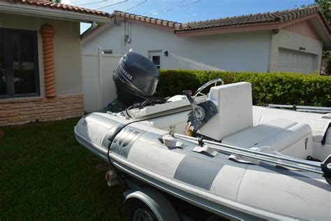 inflatable boats for sale fort lauderdale 1999 used novurania hard bottom inflatable rib dinghie