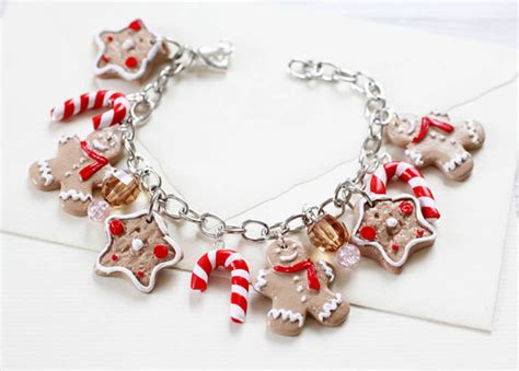 images of christmas jewelry ginger bread man bracelet christmas jewelry charming
