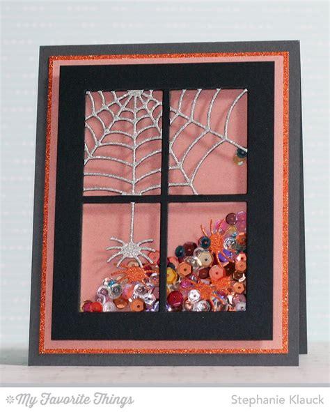 Harvest Windows Inspiration Centerpieces Spooky Window Die Namics Klauck Mftsts Cards Crafts
