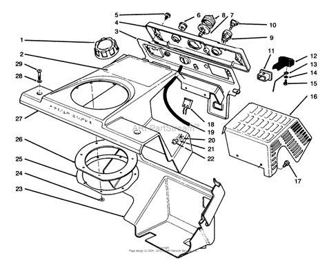 toro ccr 2000 parts diagram toro 38180 ccr 2000 snowthrower 1995 sn 5900001 5999999