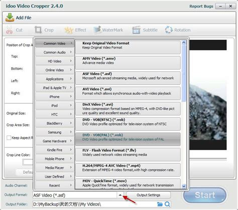 format dvd video pal how to convert video to vob pal on windows