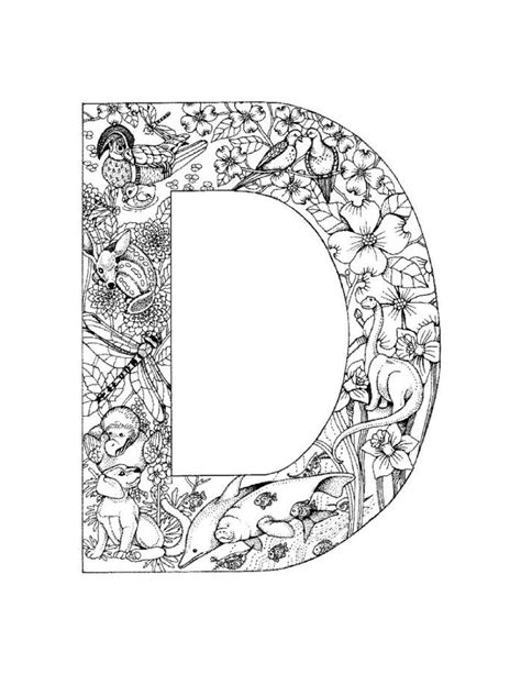 Letter D Coloring Pages Az Coloring Pages D Coloring Pages