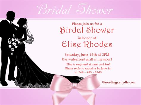 wedding invitation wording join us wedding shower invitation wording sles wordings and messages