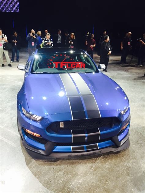 shelby gtr  stream debut   detroit auto show video  gallery