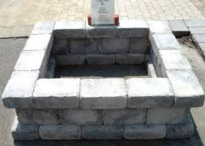 Cinder Block Firepit Fantastic Concrete Blocks For Pit Garden Landscape