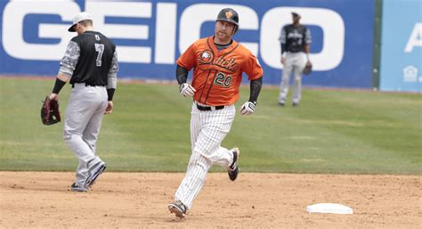 Lew Ford by Lew Ford Returns To The Island Ducks Ny Sports Day