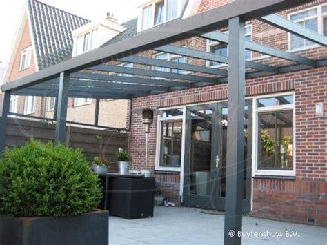 terras 70 cm breed terrasoverkapping veranda 800x350 cm incl glas
