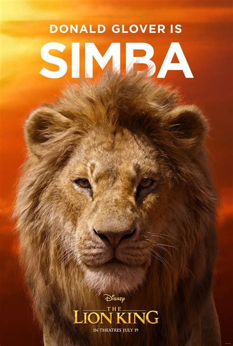 disney debuts  gorgeous character posters   lion