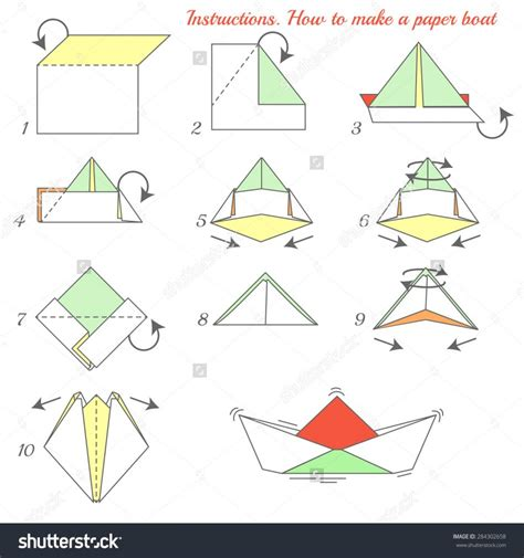 Make Paper Sailboat - origami how to make a paper ship origami boat how