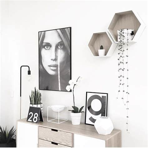 scandinavian home decor with simple wooden cushion rack 1000 ideas about wall decor online on pinterest