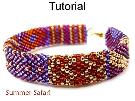 beading brick stitch tutorial beading tutorial pattern bracelet brick stitch simple
