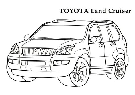Cars Land Coloring Pages | toyota coloring pages 12 toyota kids printables