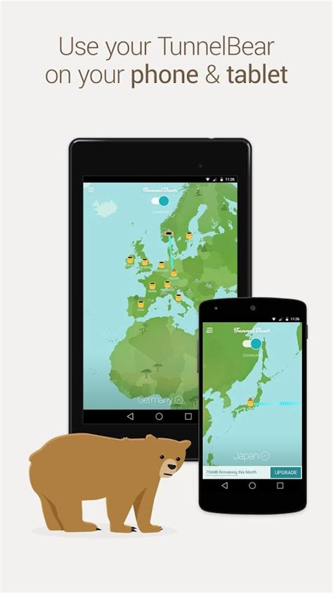 tunnelbear apk tunnelbear vpn android apps on play