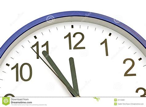 horloge murale bleue horloge murale bleue image stock image 31110081