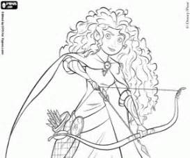 Brave Coloring Pages Printable Games 2 Princess Merida Coloring Pages
