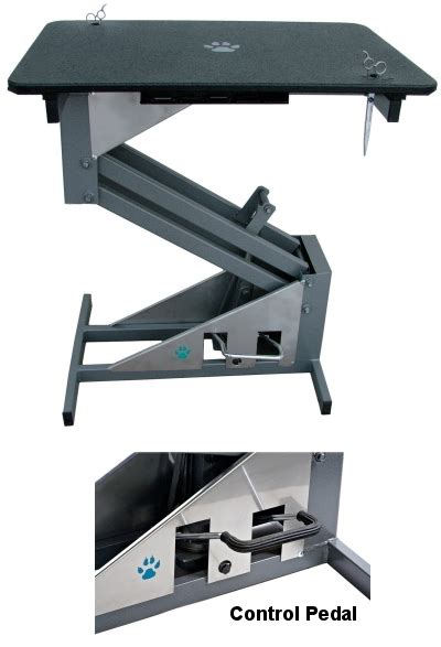lift hydraulic electric grooming tables for dogs
