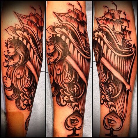 under the needle tattoo ship figurehead by clae welch yelp