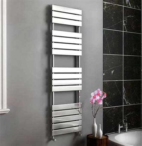 bathroom radiators only 163 159 99 synergy sahara flat panel chrome designer
