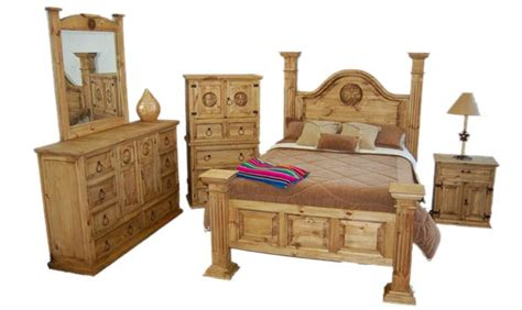 big sky bedroom set rustic king western real solid