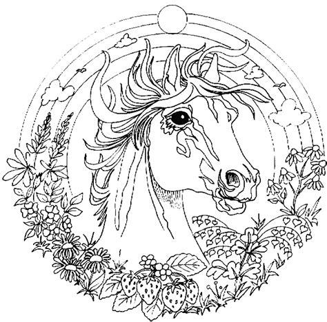Mandala Coloring Pages Unicorn Mandala Coloring Pages
