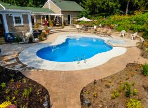 Small Pool Designs For Small Backyards Rochester Ny Pool Installers Spas North Eastern Pools