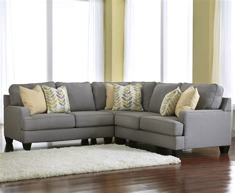signature design sectional sofa signature design by ashley chamberly alloy modern 3