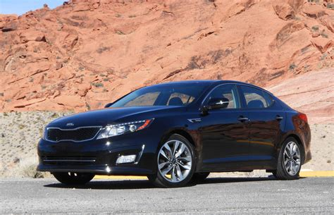 Kia Optima Turbo Performance Car Review 2014 Kia Optima Sx Turbo Driving