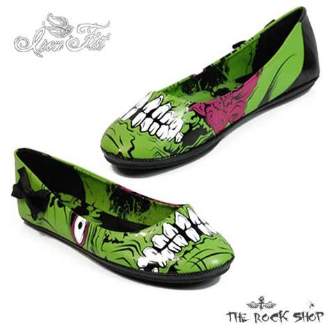 Flat Shoes Zombi iron stomper flats shoe collection