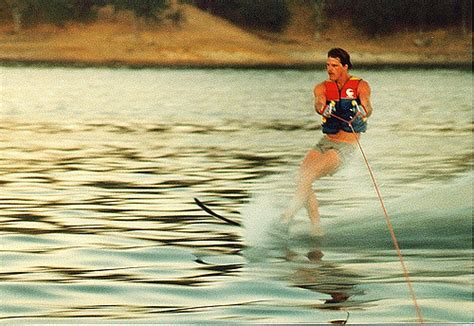 watersports can you ski behind a pontoon boat the full - Fishing Boats You Can Ski Behind