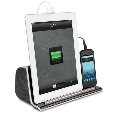 smartphone charging station the charging bluetooth dock speaker for tablet and