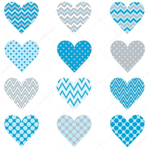 pattern blue heart baby blue heart shape pattern stock vector 169 jason lsy
