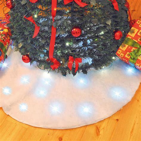 tappeto sotto albero di natale tappetino luminoso sotto albero di natale addobbi per l